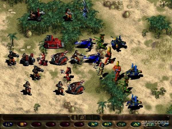 战争之潮在当时非常主流的游戏画面