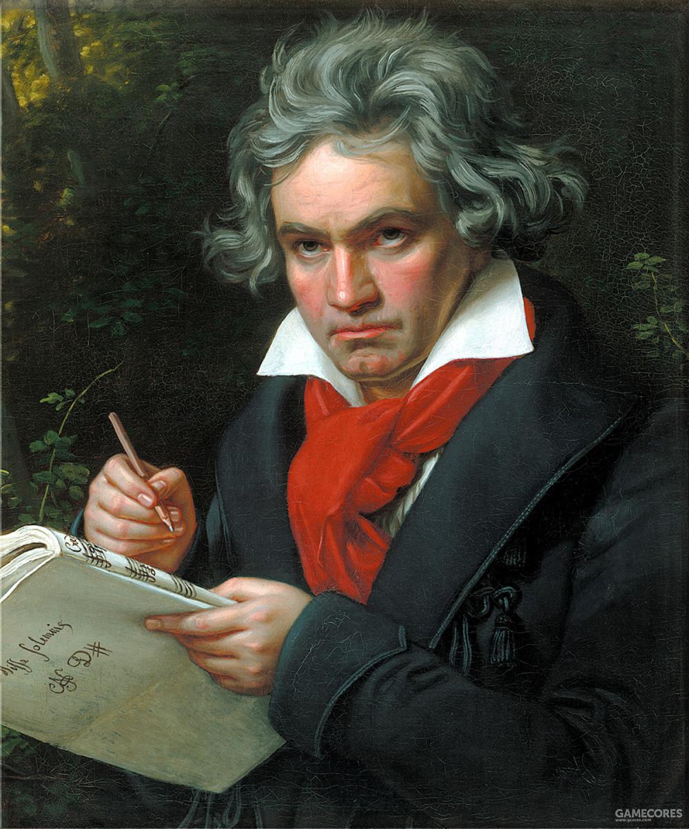 贝多芬因为先天梅毒而逐渐失去了听力