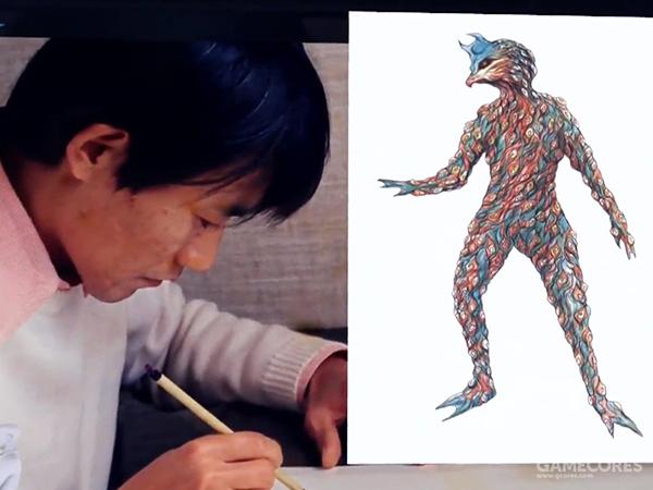 """佩罗林卡星人的设计师,日本影视美术大师池谷仙克。大家耳熟能详的""""双尾怪""""、""""特贡""""都是大师的名作"""