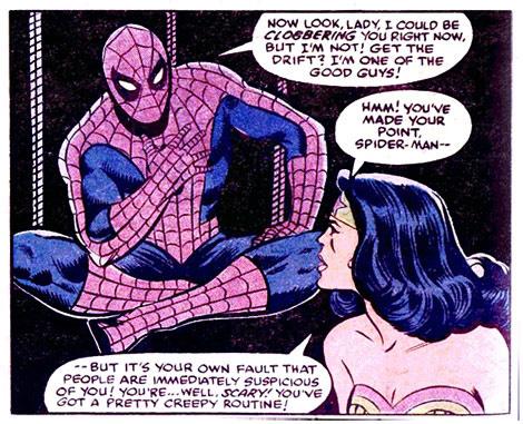 神奇女俠遇見蜘蛛俠,DC漫威英雄究竟有何不同?