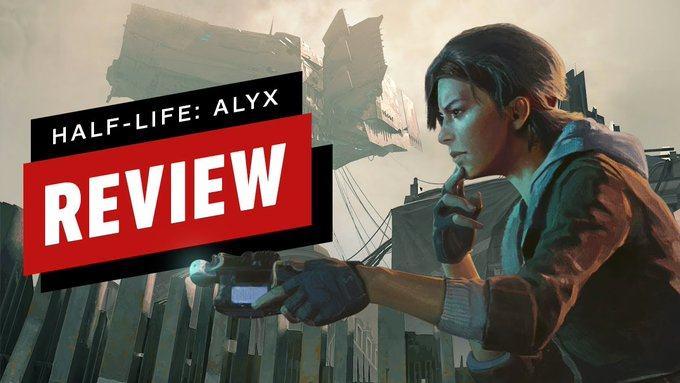 《半衰期 爱莉克斯》媒体评分汇总:迄今为止最好的VR大作