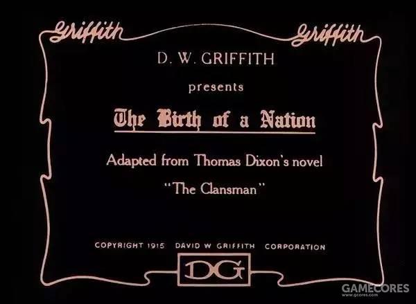 《一个国家的诞生》是好莱坞以国家内战和重建为内容创作的第一部整片长度的无声故事片,导演为D·W·格里菲斯。以托马斯的两部小说《同族人》和《豹斑》为基础创作。