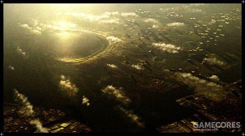 Ryker陨石坑,位于大陆西北Erusea首都Farbanti,已知最致命的一颗陨石,冲击造成的地壳影响直接淹没了Farbanti的旧城区