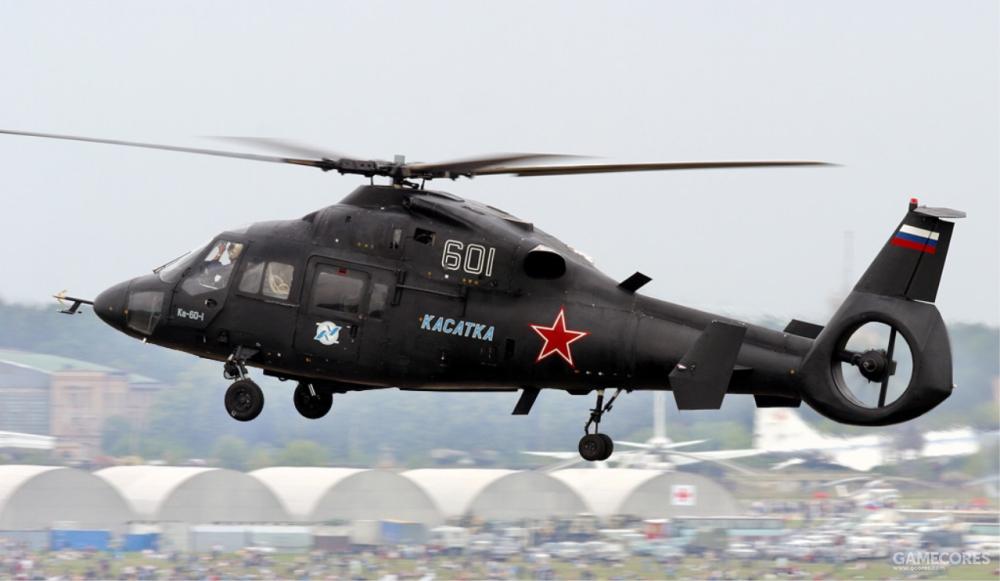 飞行中的卡-60