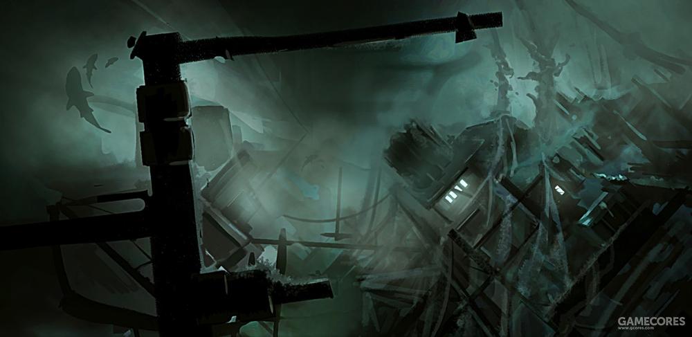 《无光之海》载入画面
