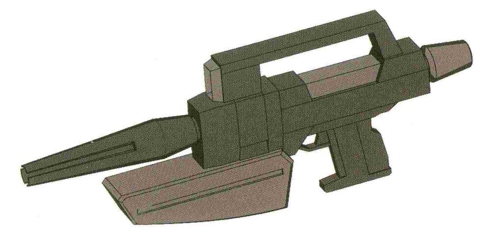 其实BS-S-85-C2也存在使用E-pack技术的实验型号。不过产量只有10个批次。除了泰坦斯的试验部队,基本没有其他部队有使用该武器的记录。