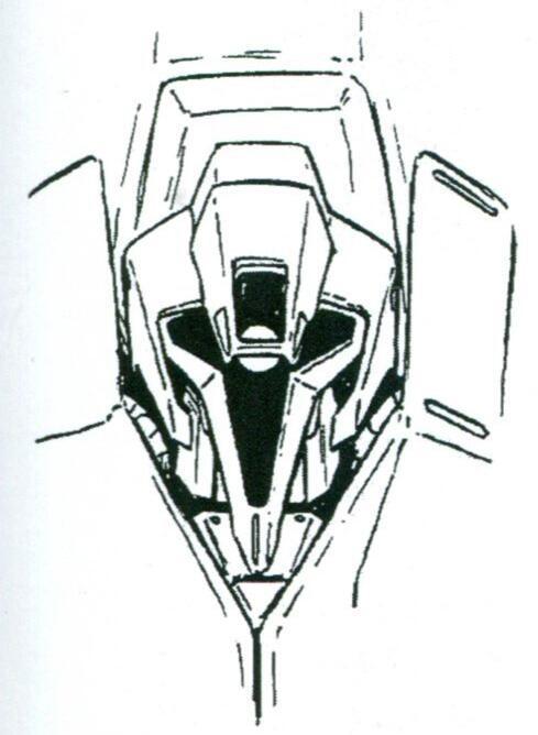 头部采用了专门设计的十字星式独眼轨道,在保证视野的前提下将头部控制在了一个极窄的造型。