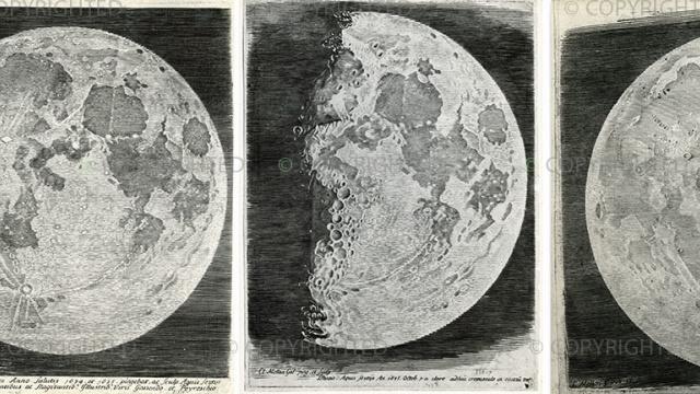 当天文学家前请先学习画画:400年前奇怪的手绘月面图欣赏