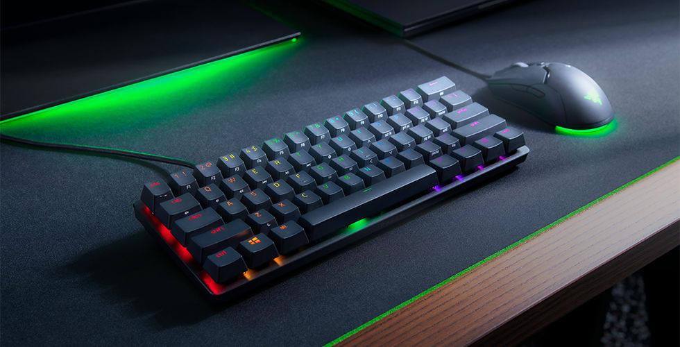 雷蛇推出60%布局的猎魂光蛛迷你版机械键盘