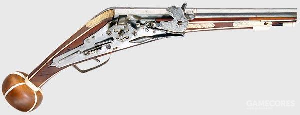 16世纪簧轮手枪