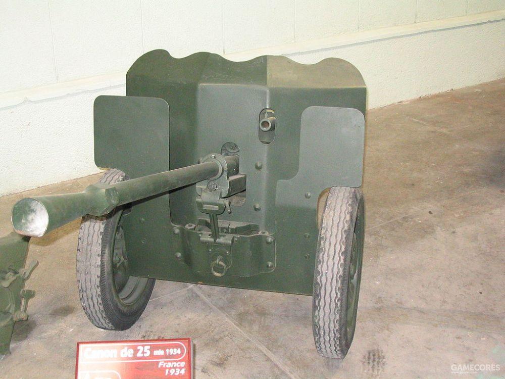 法国25 mm 哈奇开斯反坦克炮
