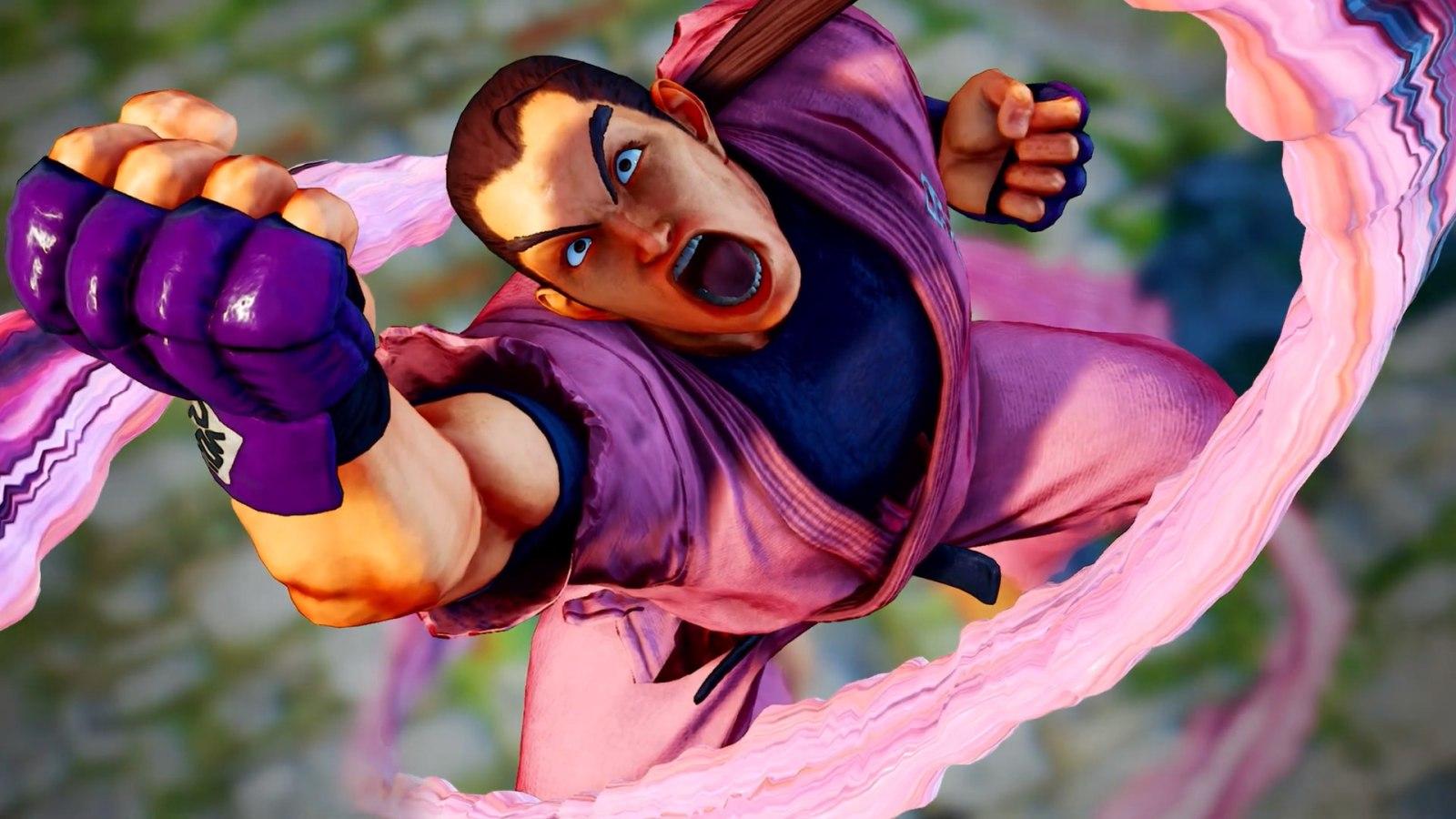 今日解锁!《街霸5 冠军版》DLC角色火引弹预告正式公开