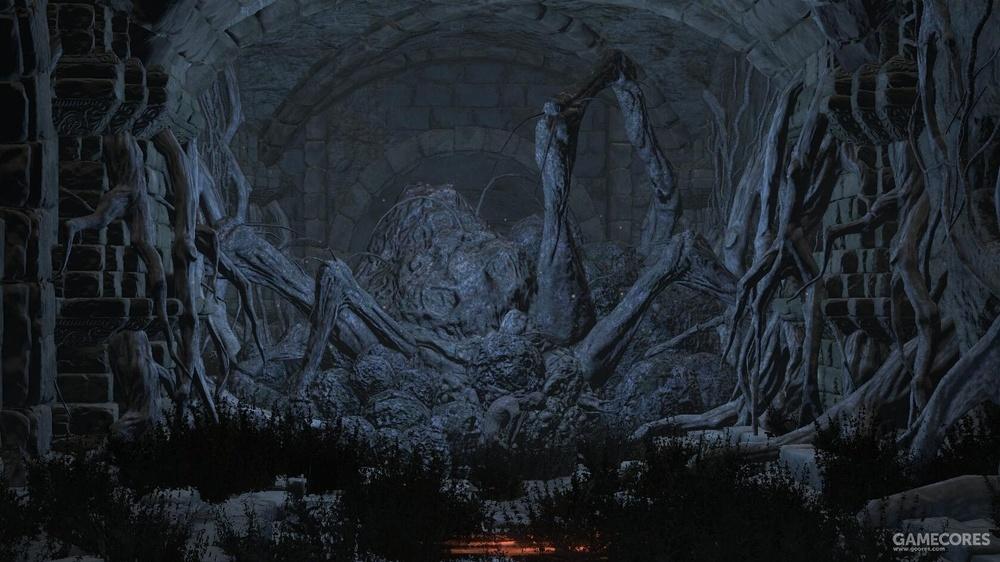 魂3白蜘蛛和克拉娜的尸体