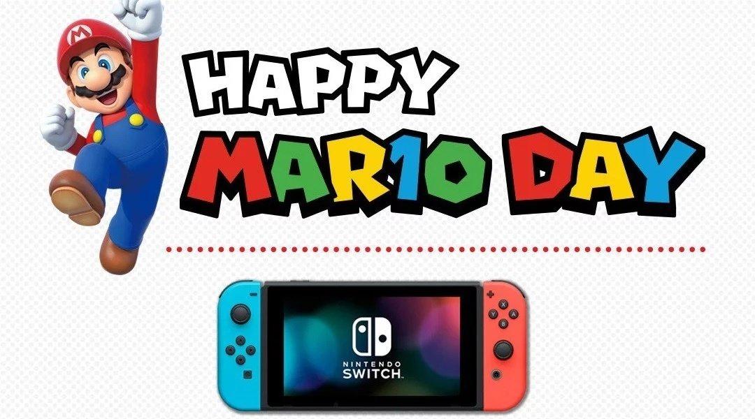 马力欧日快乐!官方开展游戏促销活动