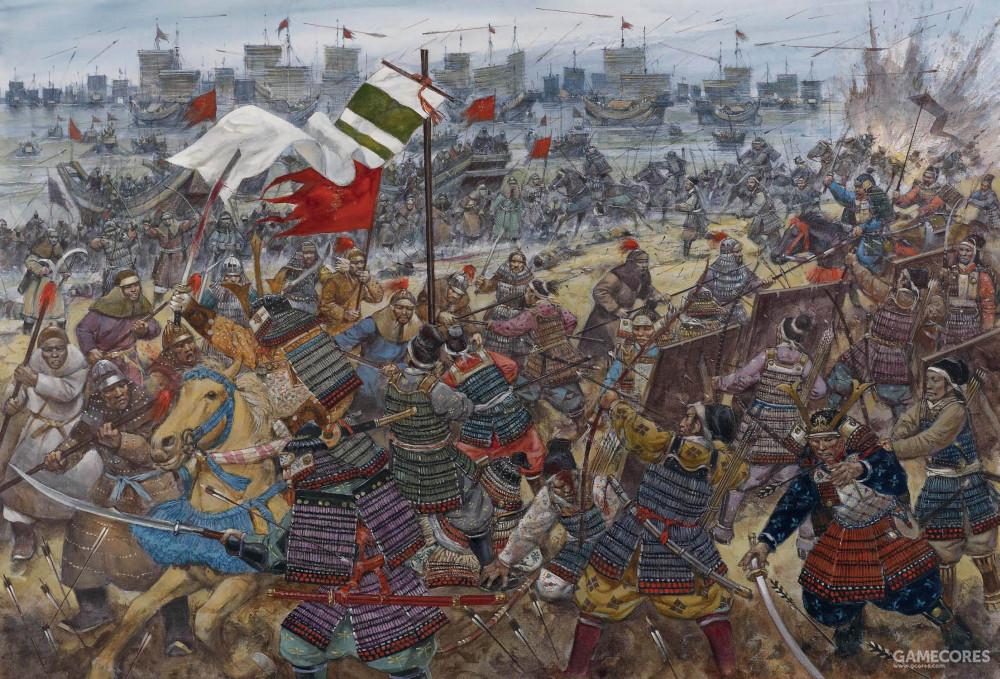登陆日本的蒙古军队