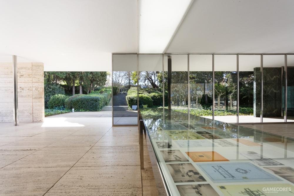 密斯·凡·德罗的巴塞罗那展会德国馆