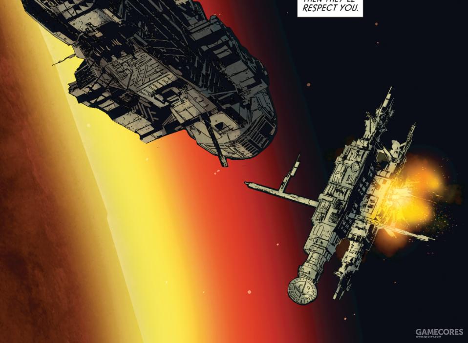祖拉和戴维斯成功摧毁空间站