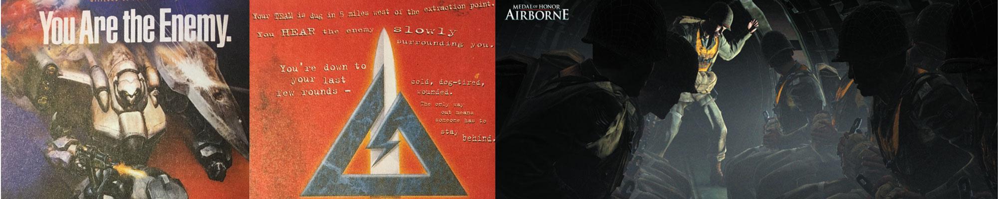 【游戏见图】Vol.1 还记得当年的三角洲部队吗?