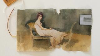 Ruby Silvious:用水彩与茶包记录生活