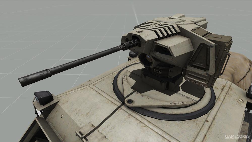 """""""猎人""""也可使用12.7mm重机枪"""