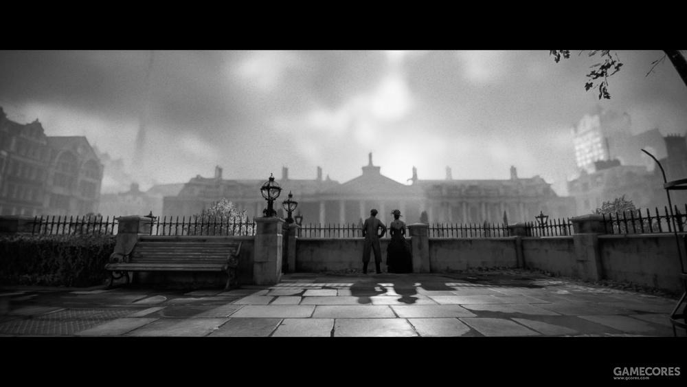 阴雨绵绵的伦敦