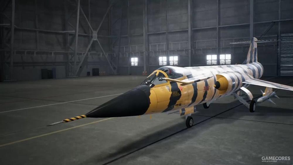 AC7中的F-104G老虎会涂装
