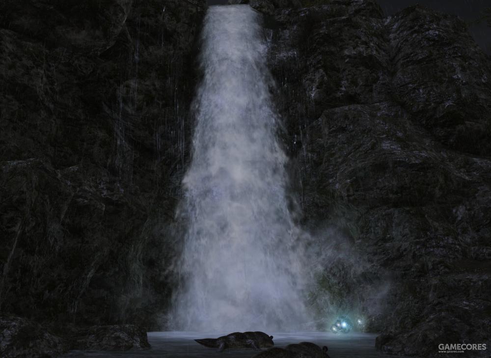 在中央林区的东北部,虹桥瀑布轰鸣宣泄,为东叶脉提供了充足的水源。据说瀑布飞溅的水雾在阳光灿烂的时候可以折射出美丽的彩虹