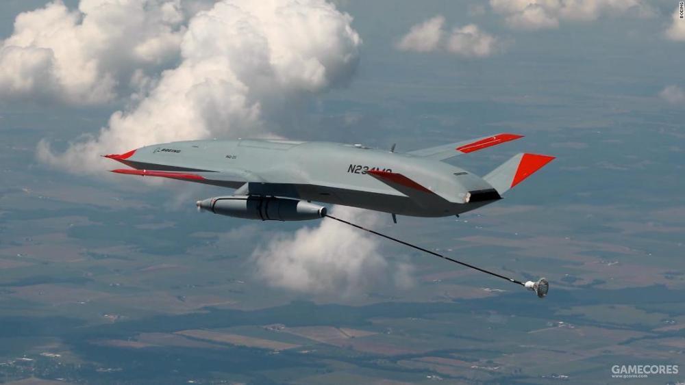 作为加油机使用的MQ-25,该机的改装潜力很大