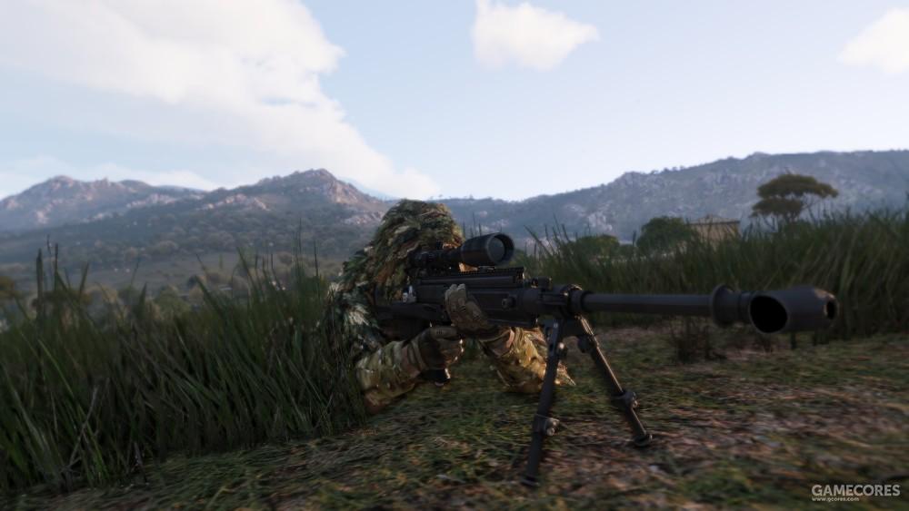 使用GM6的狙击手
