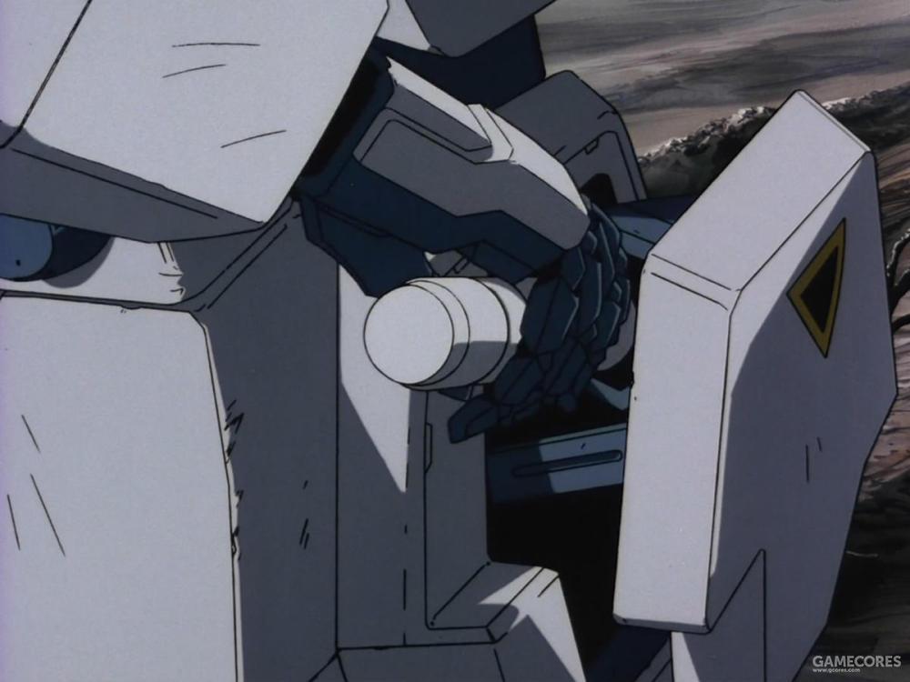 由于陆战环境不需要进行AMBAC机动,所以四肢所有的姿势控制用的推进器全部被移除,空出的空间和重量除了用于强化装甲外,原本RX-78系安装背包部位的光束军刀收纳结构也被移动到了小腿部位。该设计为了进一步减少上半身暴露的装备以及便于在复杂的地面环境下快速拔出光束军刀。