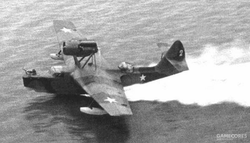 别里耶夫设计局 MBR-2飞行艇是战前苏联海军的主力巡逻水上飞机但速度和挂载能力不足