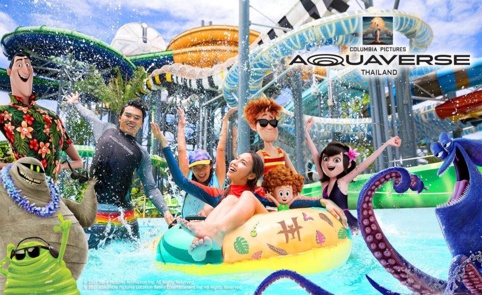 索尼影业将于今年10月在泰国开设首个主题水上乐园