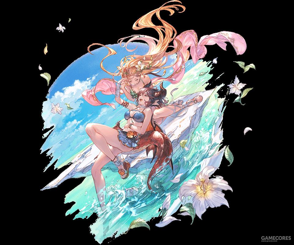 泳装古雷娅(去年的泳装刺客,她改变了水属性)