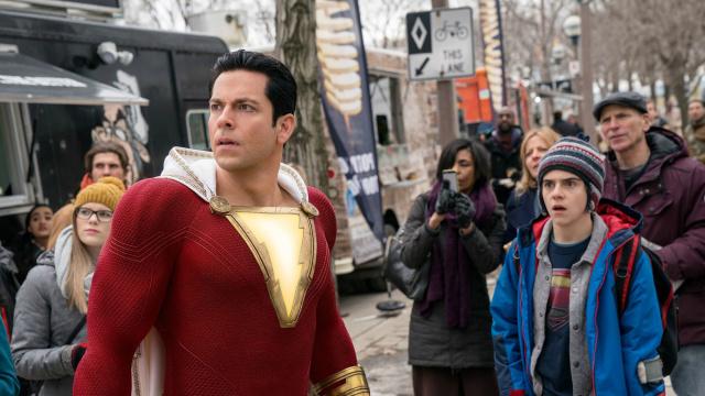DC全新超级英雄电影《雷霆沙赞!》确定将于4月5日同步登陆内地院线