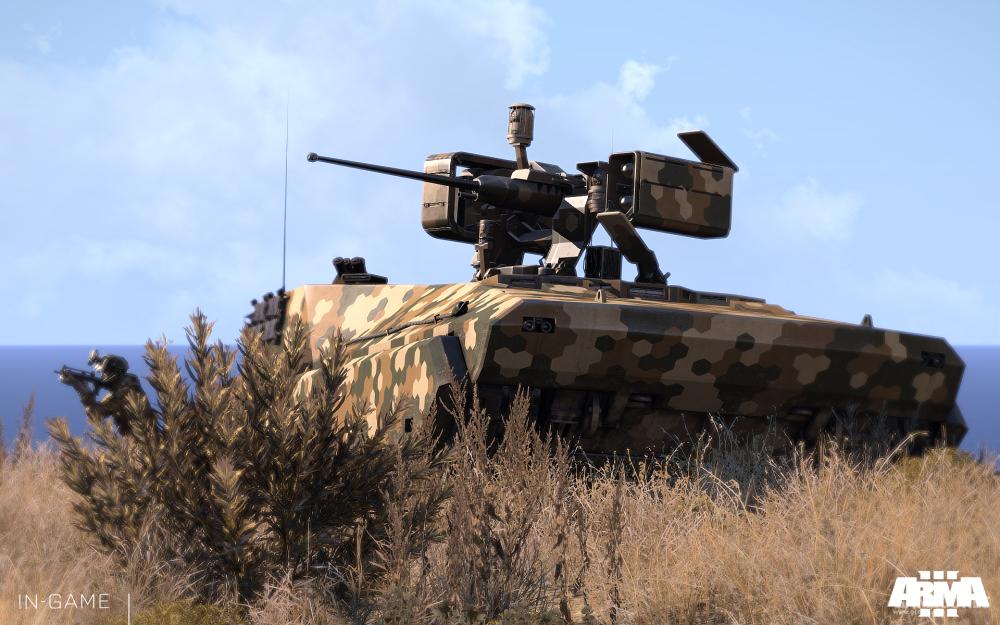 准备发射导弹的BTR-K