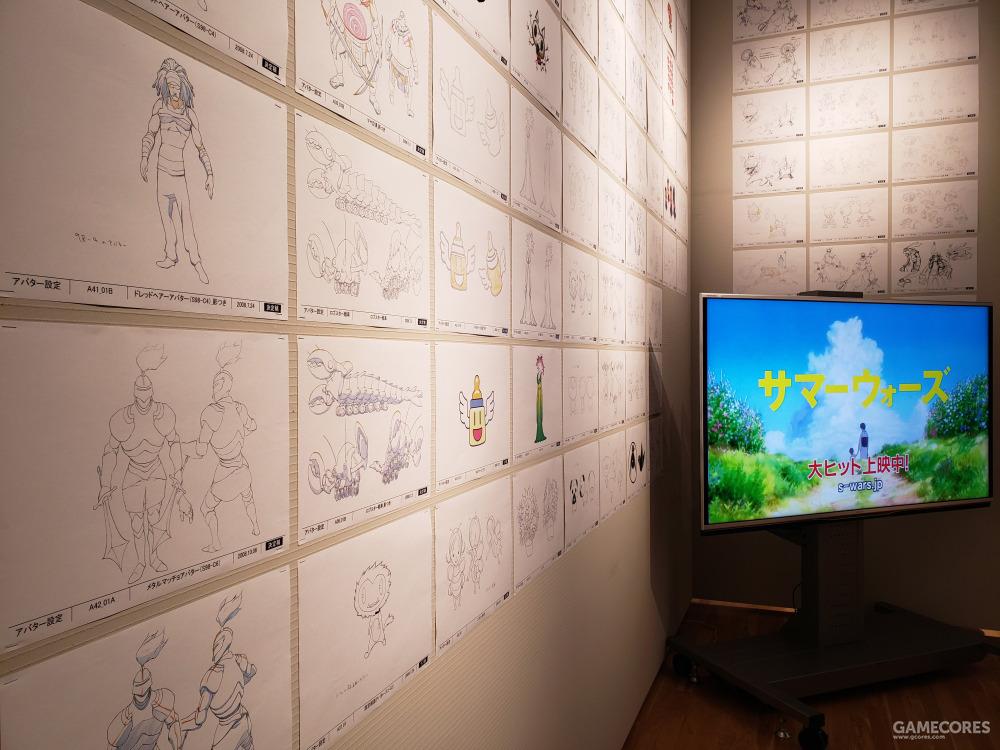 《夏日大作战》的OZ中出现的各种虚拟形象的设计图