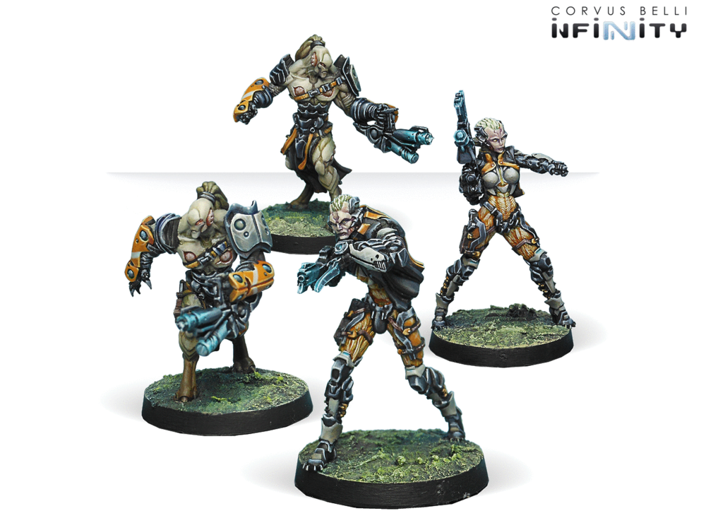 装备共生甲的托哈部队