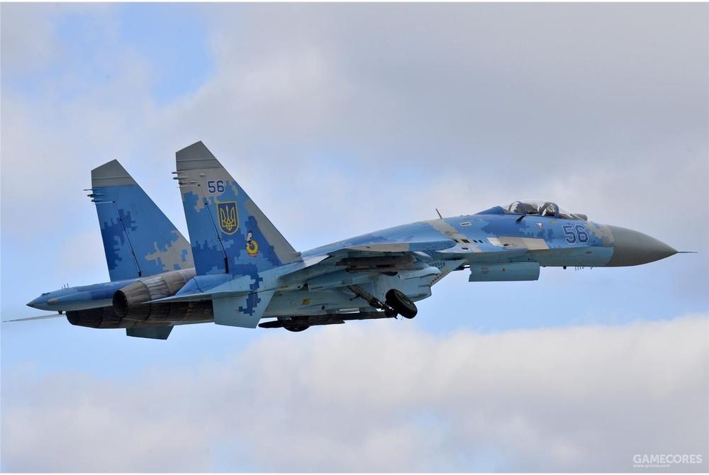 乌克兰空军的SU-27