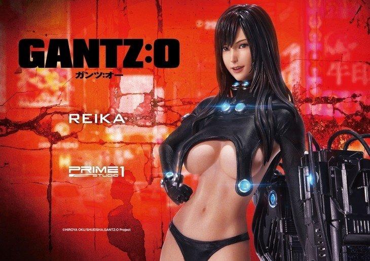 惊人的细节与尺寸,《GANTZ:O》丽香新款手办公布