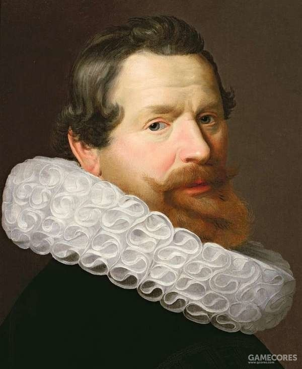 Portrait of a Man Wearing a Ruff is a painting by Dutch School