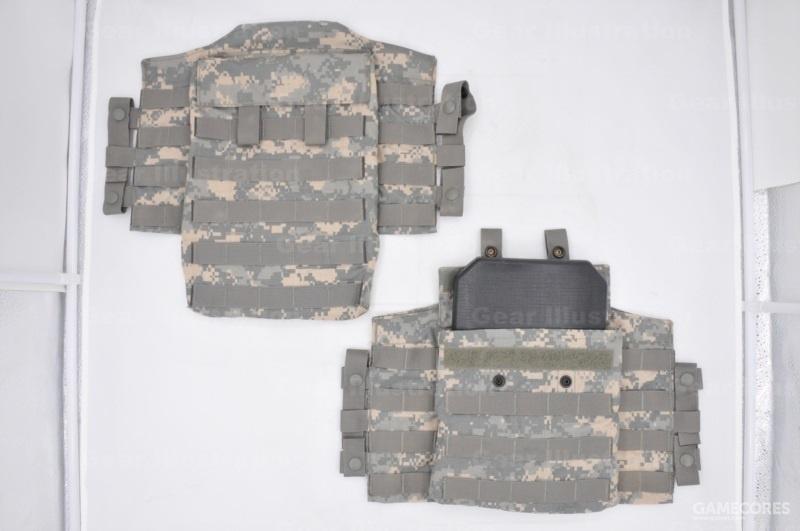 UCP迷彩的侧面防护组件
