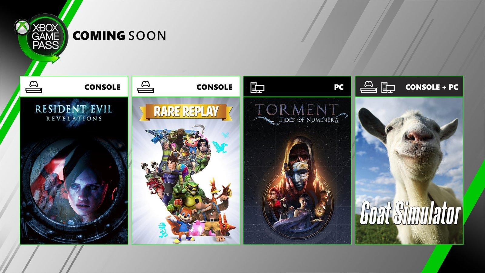 Xbox Game Pass Ultimate 加入4款新游戏!
