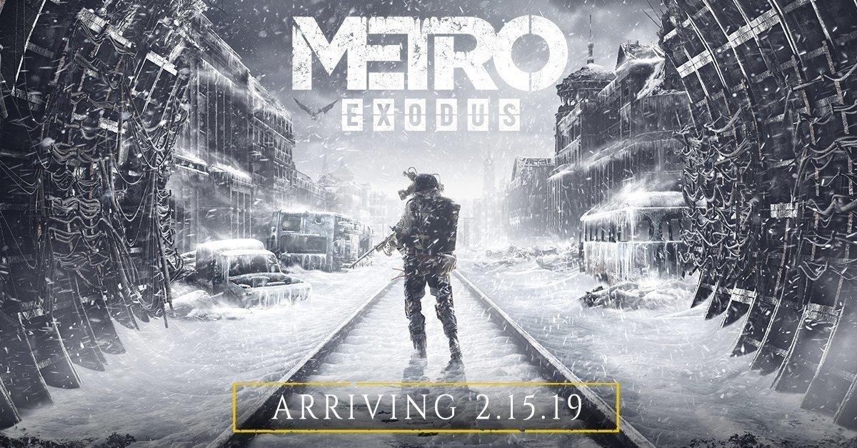 往前跳票!《地铁 离去》官方决定提前7天,2月15日发售