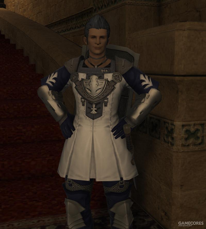 身着白色轻甲的银胄团成员,由于沙蝎众的刻意打压,银胄团的装备已经不如往日