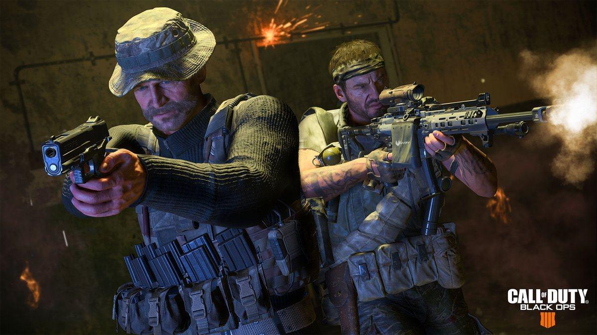 预购《使命召唤:现代战争》将可以在《黑色行动4》中使用普莱斯上尉