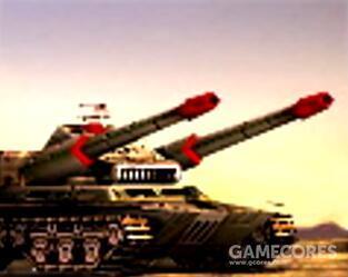 """汉化一般叫""""炎黄坦克"""",其实英文叫""""overlord tank""""""""霸王坦克"""",三族最强高科坦克,用两个59魔改底盘拼在一起,可以升级不同模块获得额外能力"""