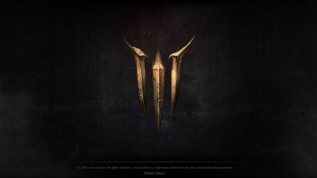 "Larian工作室公布全新页面,上面只有一个""3"""
