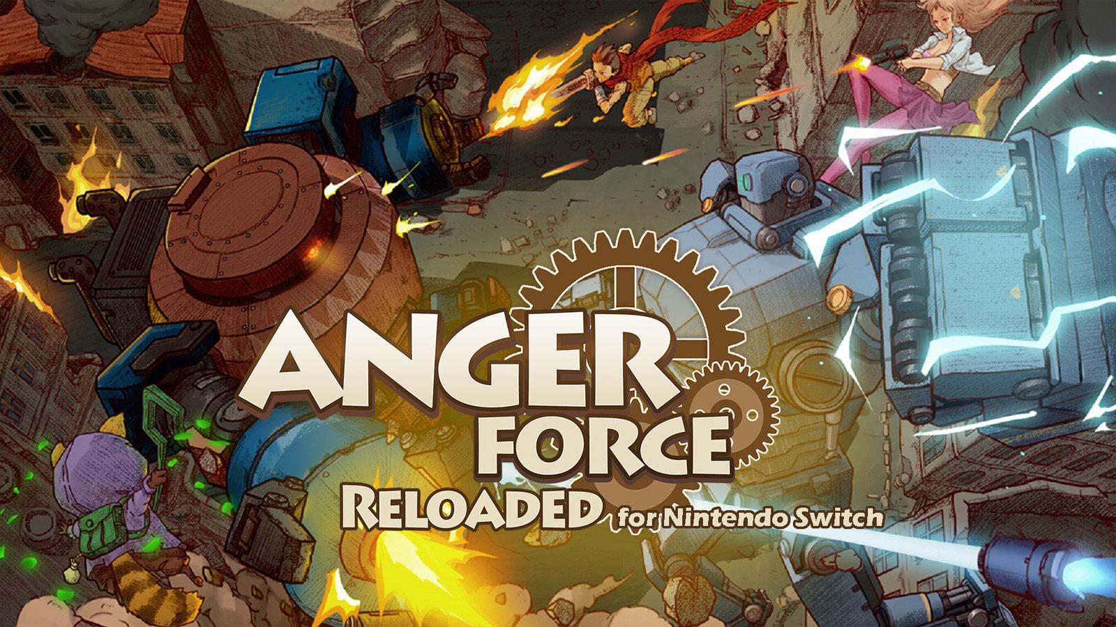 国产传统STG游戏《愤怒军团:重装》四月登陆家用机平台