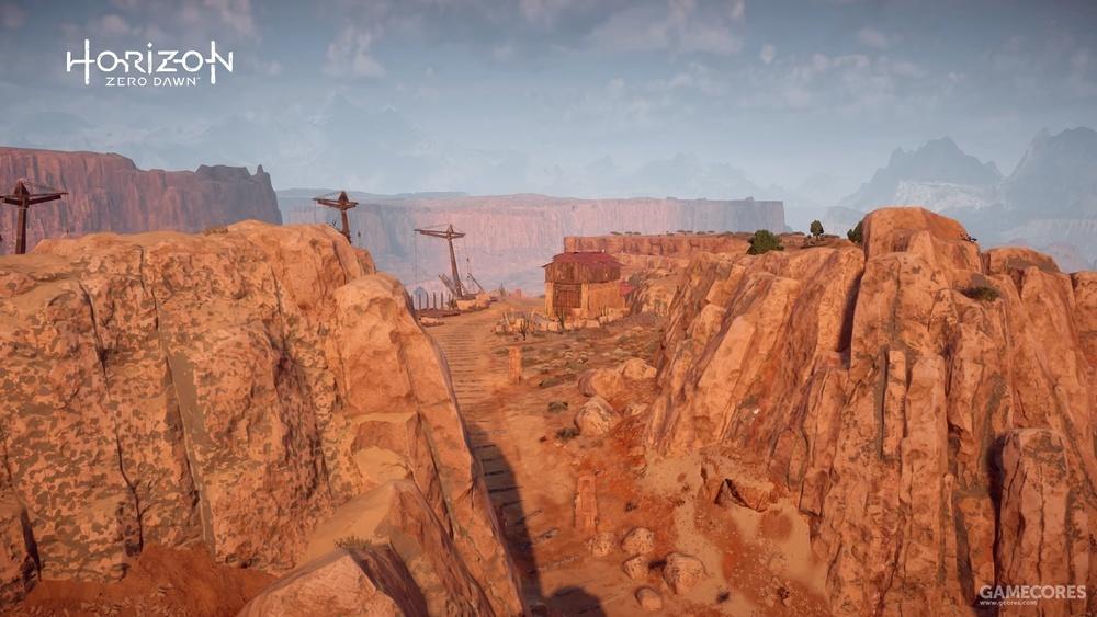 游戏中的老鹰峡谷