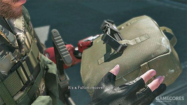 游戏中使用的富尔顿回收系统